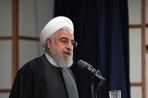 روحاني : الانتخابات تنعكس ايجابا على قوتنا الوطنية