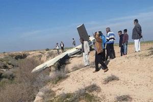 الحرس الثوري : طائرة مسيرة ايرانية تهبط اضراريا جنوب غربي البلاد