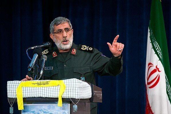قائد فيلق القدس لحرس الثورة الإسلامية: سنثأر لدماء شهداء المقاومة من أمريكا