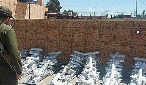 ضبط طنين و 214 كغم من المخدرات في محافظة سيستان وبلوجستان