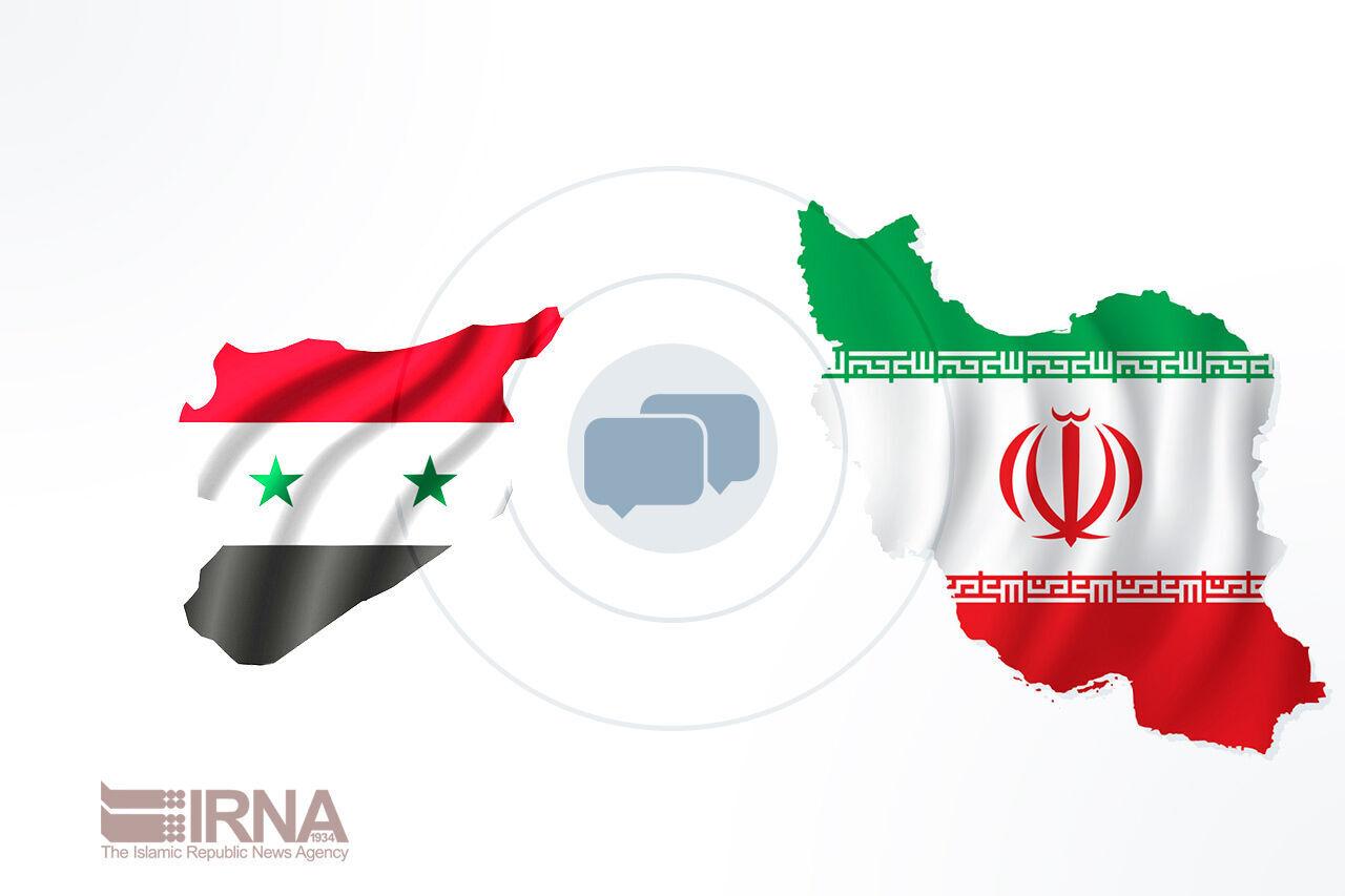 تحسين العلاقات التجارية بين إيران وسوريا تعبر عن إرادة البلدين
