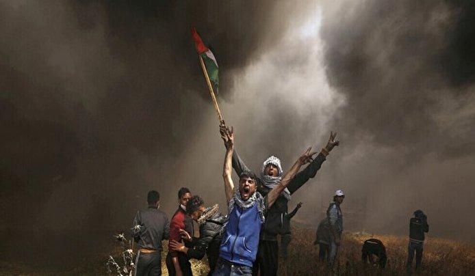 إصابة 15 فلسطينيا في مواجهات مع الجيش الإسرائيلي في الضفة الغربية