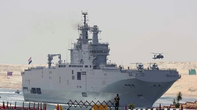 قائد القوات البحرية المصرية: تسليحنا قادر على تأمين الأهداف الحيوية بالمتوسط والأحمر