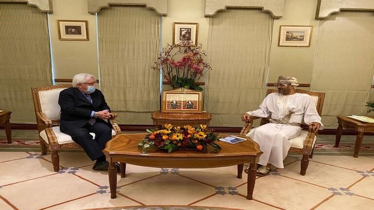 غريفيث يناقش في مسقط العملية السياسية باليمن