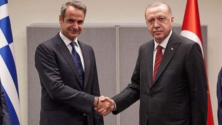 أردوغان يشكر رئيس وزراء اليونان لتضامنه عقب زلزال إزمير