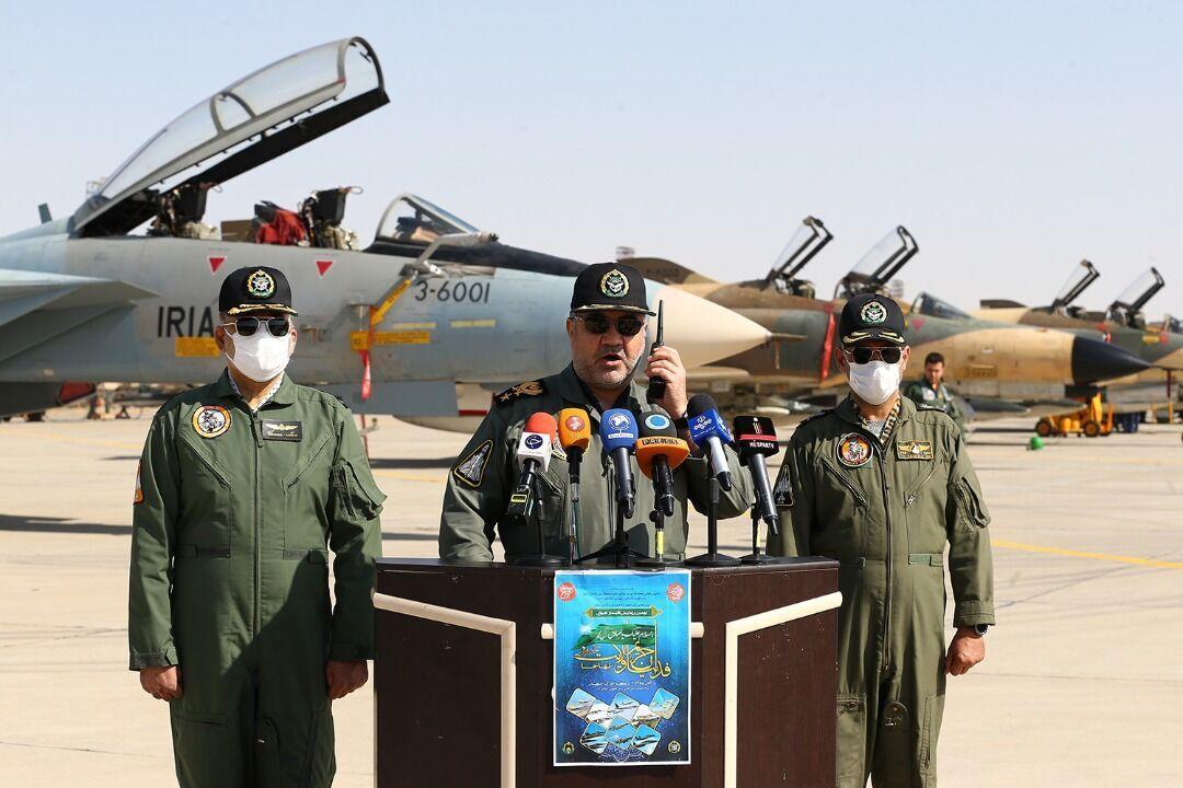 انطلاق مناورة القوة الجوية للجيش الايراني
