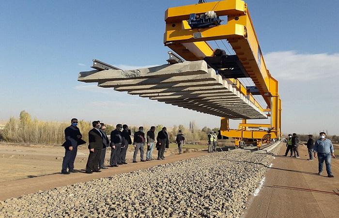 استخدام التكنولوجيا المحلية الحديثة يسرّع مد خطط سككي شمال غرب ايران