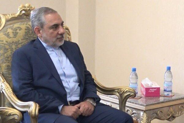 سفير الجمهورية الاسلامية يلتقي وزير الخارجية اليمني