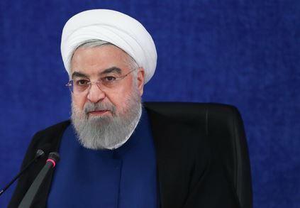 الرئيس روحاني: على حكومة امريكا الجديدة التعويض عن الاخطاء التي ارتكبها ترامب