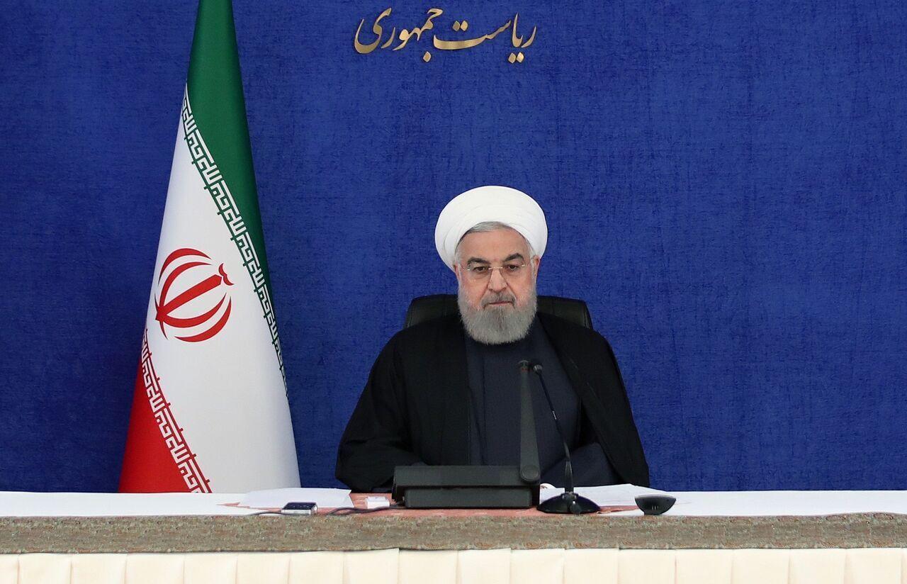 الرئيس روحاني: سنرد على اغتيال الشهيد فخري زاده في وقته