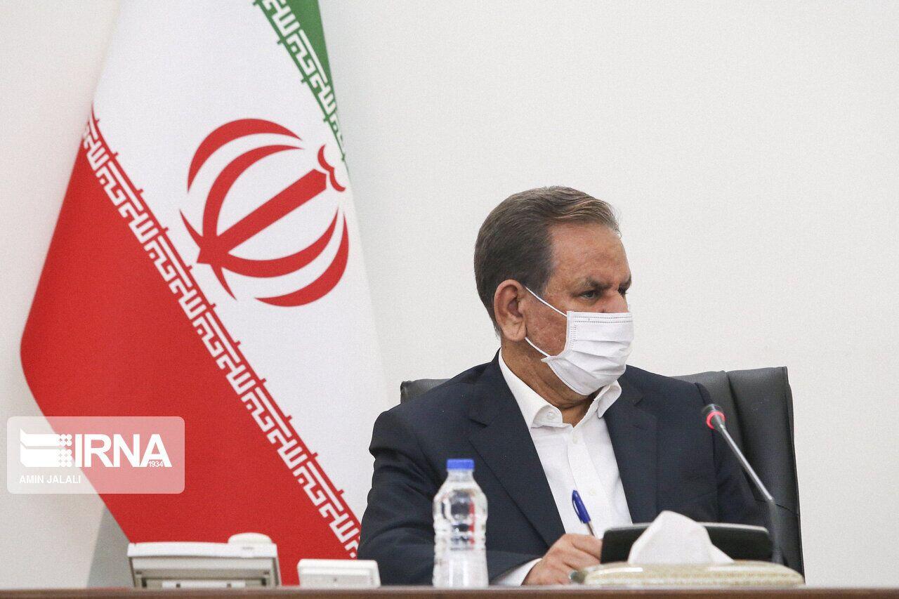 جهانغيري: الاعمال الارهابية الغادرة لن تثني عزم الشعب الايراني
