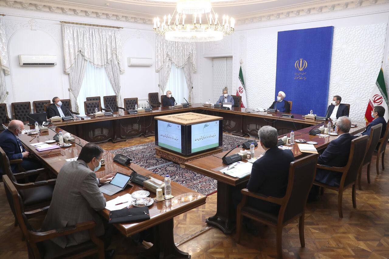 روحاني: على الإدارة الأمريكية المقبلة أن تغتنم الفرصة لتعويض أخطاء الماضي