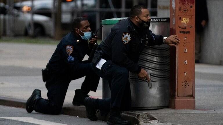 تصفية مسلح أطلق النار أمام كاتدرائية في نيويورك