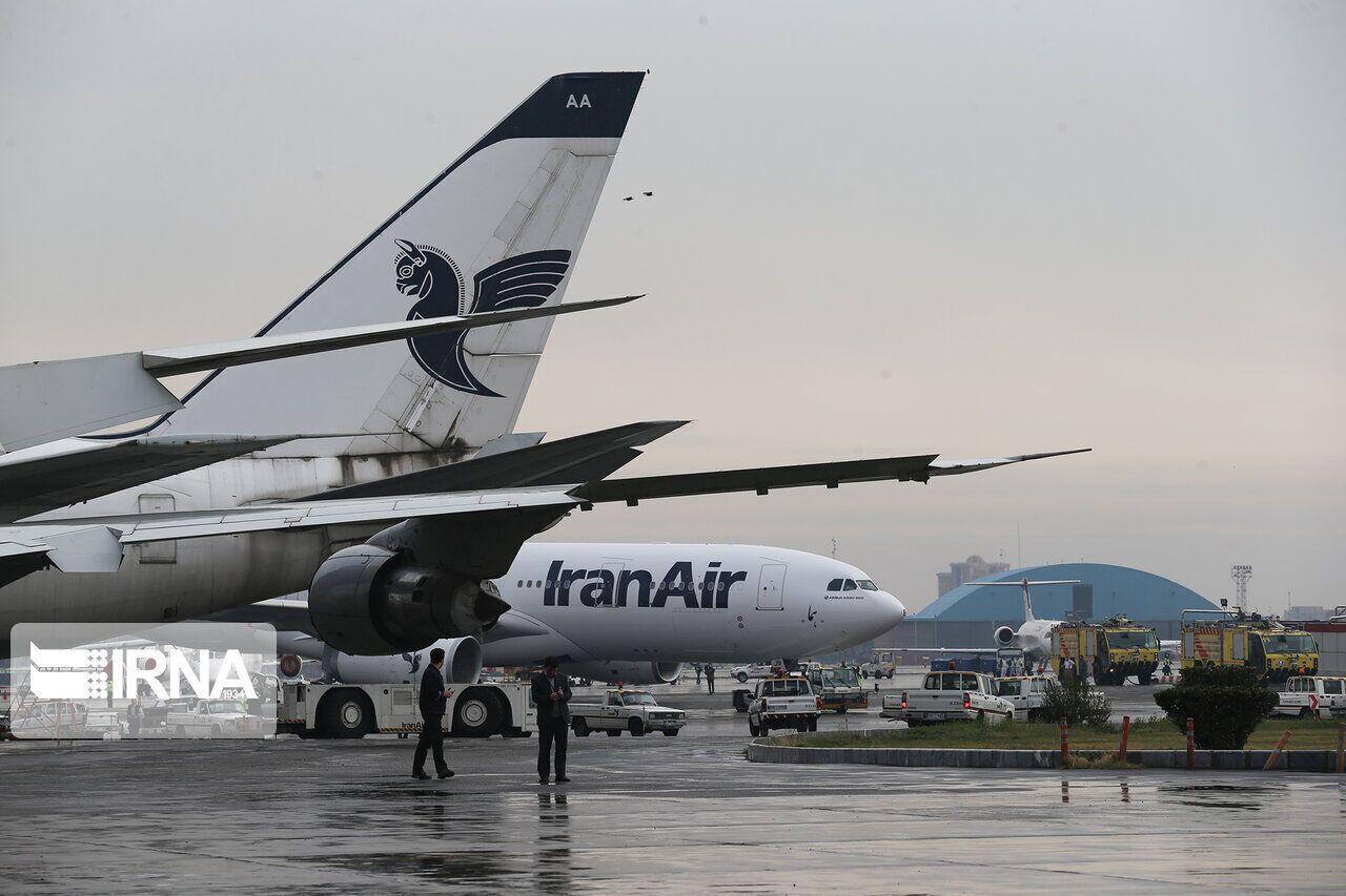 وزارة الطرق الايرانية تعلن تعليق الرحلات الجوية مع بريطانيا لفترة اسبوعين