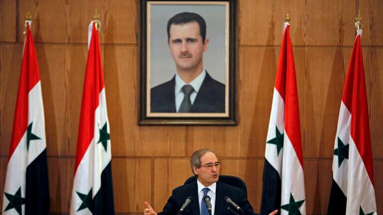 المقداد: الانتخابات الرئاسية بسوريا ستجري بموعدها
