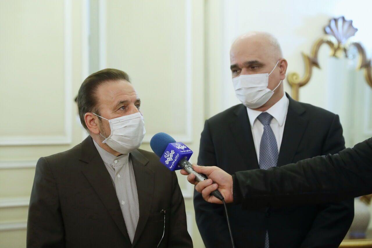 واعظي: الحدود بين ايران وجمهورية اذربيجان حدود سلام وصداقة واخوة