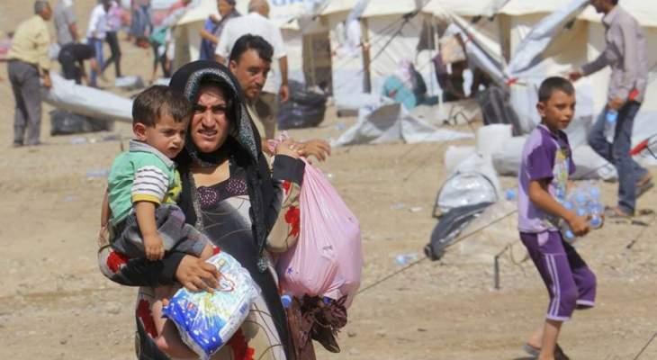 النشرة: مفوضية اللاجئين ترفع كلفة بدل الغذاء للنازح من 70 إلى 100 ألف