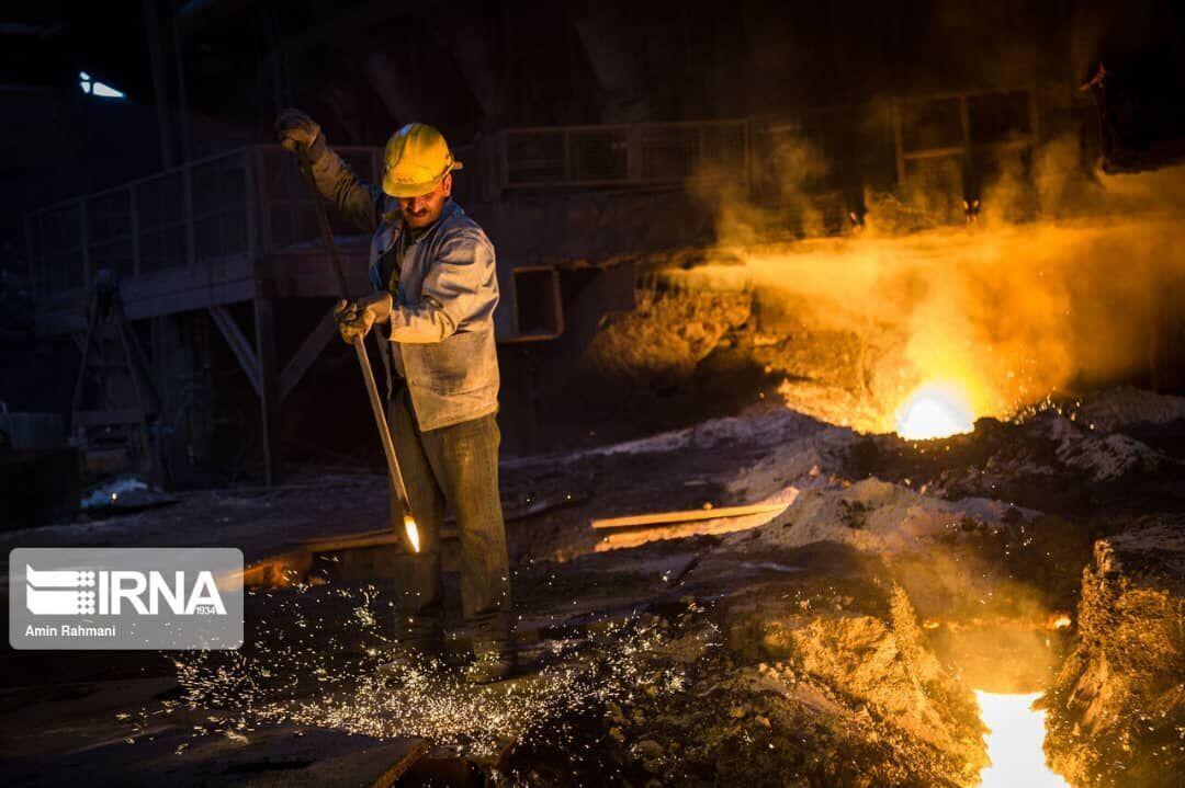 زيادة إنتاج الحديد الإسفنجي في مصنع شادكان للحديد بنسبة 15 بالمئة