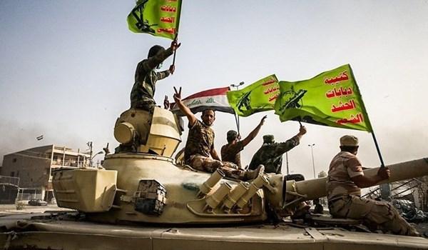 الحشد الشعبي يشكل طوقا أمنيا بعمق 60 كم قرب الحدود العراقية السورية