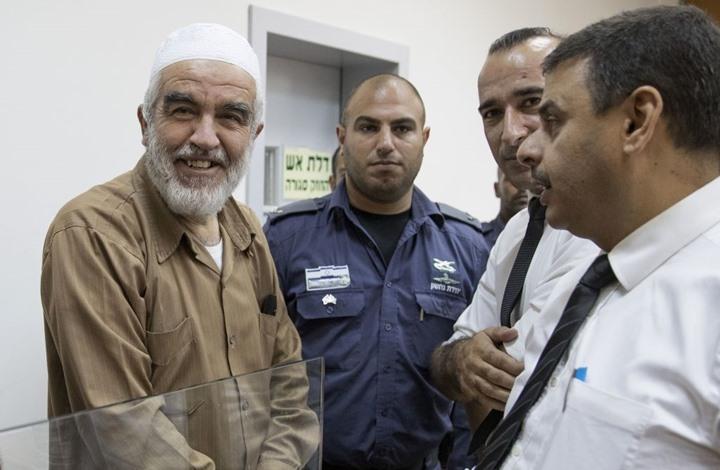 الاحتلال يصدر حكما بالسجن 28 شهرا على الشيخ رائد صلاح