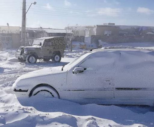 انخفاض شديد في درجات الحرارة في معظم انحاء ايران