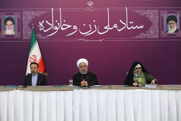 الرئيس روحاني: ليس هناك نموذج أرقى من نموذج فاطمة بنت الرسول الأعظم (ص)