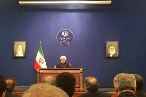 روحانی: ايران لا تزال مصرة على تفعيل مبادرة هرمز للسلام