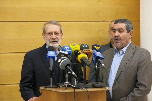 لاريجاني: ايران تريد الحرية والاستقلال للبنان