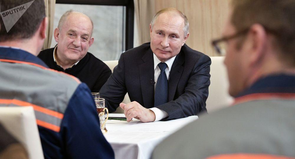 الكرملين بصدد التحضير لزيارة بوتين الرسمية إلى كوريا الجنوبية