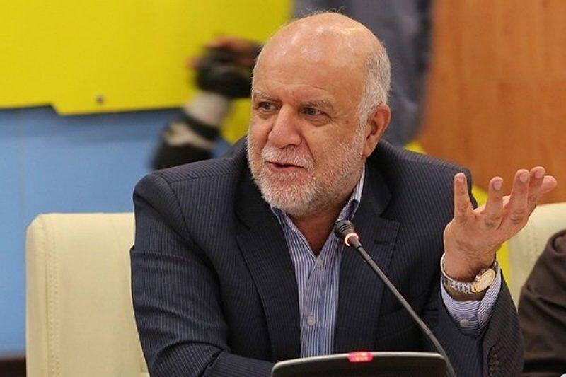 وزير النفط الايراني يؤكد اهمية اكمال مشروع انبوب لنقل النفط جنوب البلاد