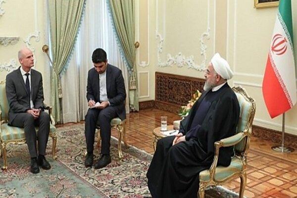 روحاني: الخروج الامريكي من الإتفاق النووي يضر شعوب المنطقة والعالم