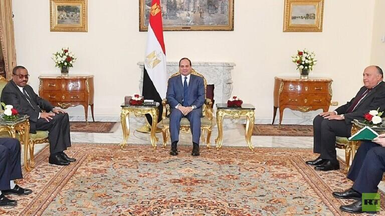 السيسي يؤكد التزام مصر بإنجاح مفاوضات واشنطن حول