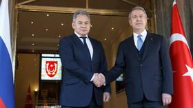 لافروف: نأمل في نجاح المشاورات القادمة مع أنقرة حول إدلب