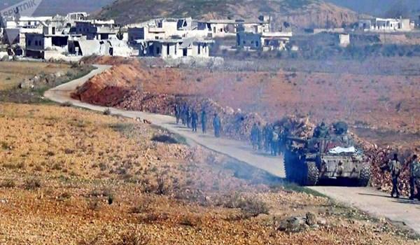 على مشارف إدلب...الجيش السوري يسيطر على بلدة استراتيجية ويقطع أوتستراد