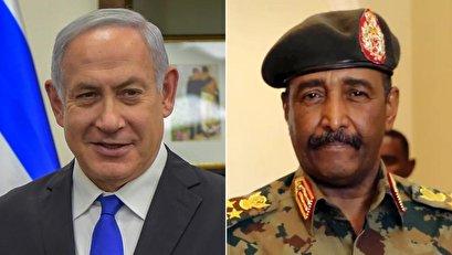 الفلسطينيون اعتبروه طعنة.. لقاء بين نتنياهو والبرهان ومسؤول سوداني يؤكد أن الإمارات نسقته