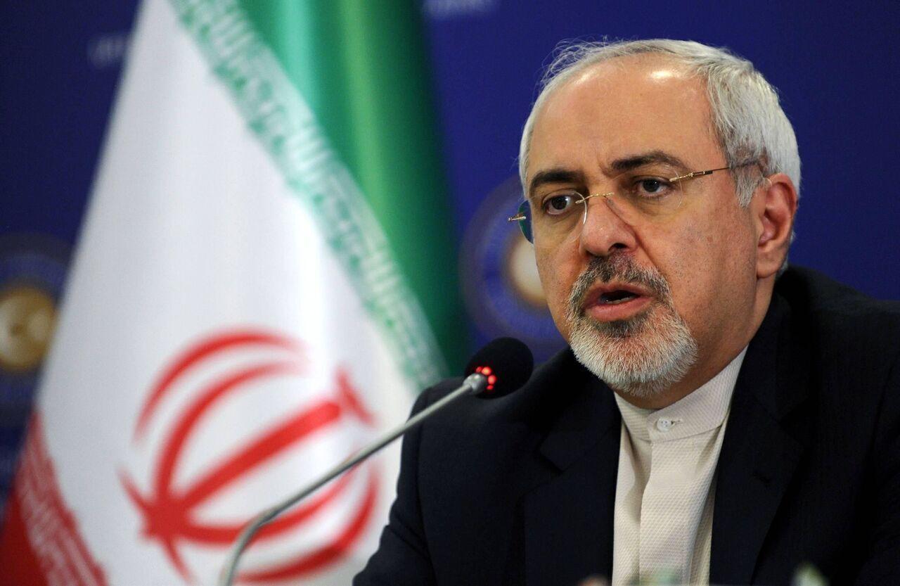 ظريف يؤكد موقف ايران الرافض لـ