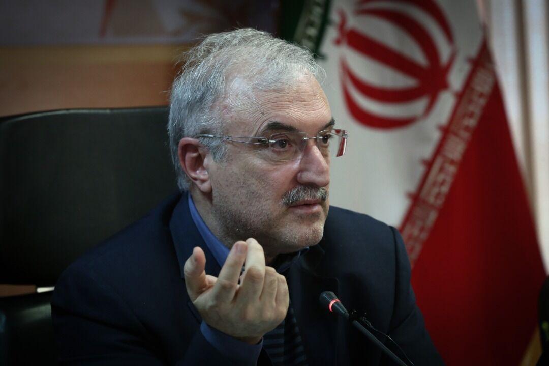 وزير الصحة الايراني: اختبار كورونا للمسافرين الاجانب في الحجر الصحي كان سلبيا