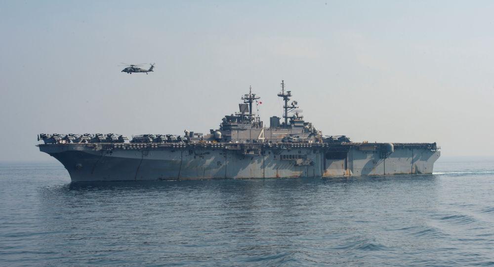 حاملة طائرات أمريكية تدخل مجال البحر الأبيض المتوسط