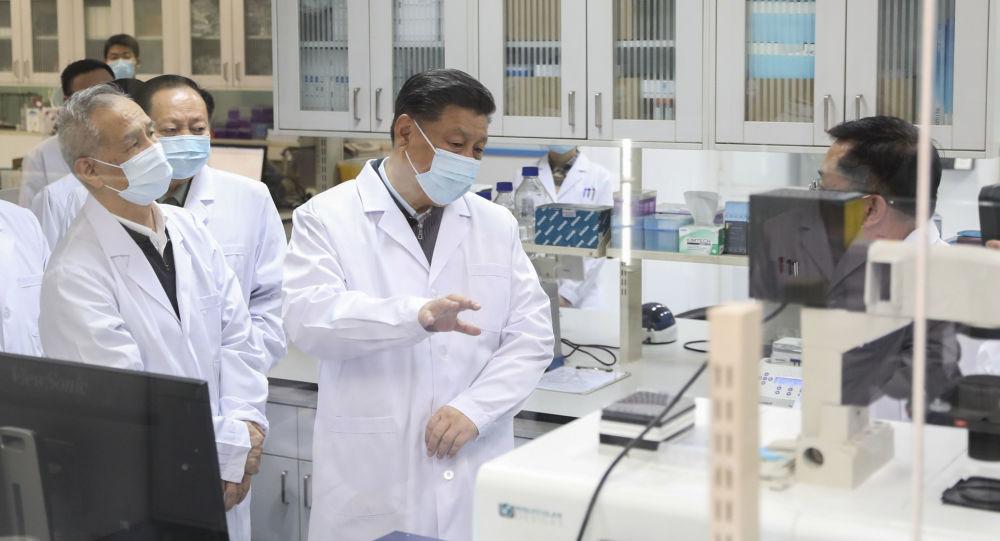 الرئيس الصيني يقوم بأول زيارة إلى ووهان بؤرة انتشار فيروس كورونا