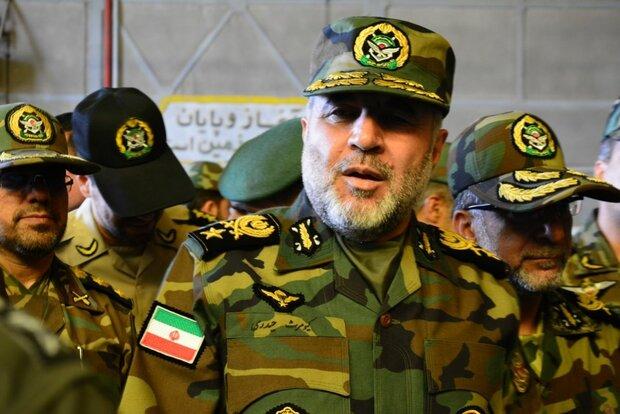 تعيين العميد حيدري قائدا ميدانيا لاجراءات الوقاية والعلاج في الجيش الايراني