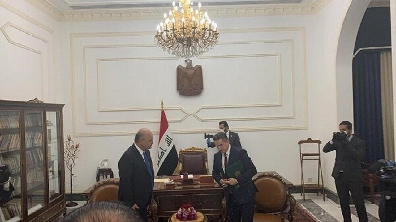برهم صالح يكلّف عدنان الزُرفي بتأليف الحكومة العراقية