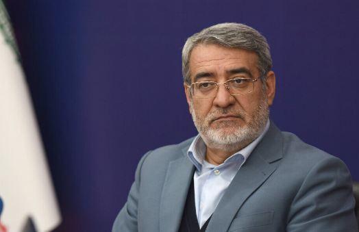 وزير الداخلية الايراني يدعو وسائل الاعلام للعمل بقوة في مسار مكافحة كورونا