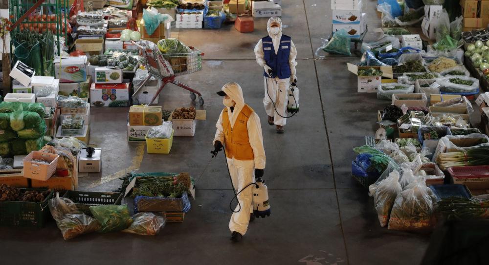 كوريا الجنوبية تسجل 516 إصابة جديدة بفيروس كورونا ليصل المجموع إلى 5328 شخصا