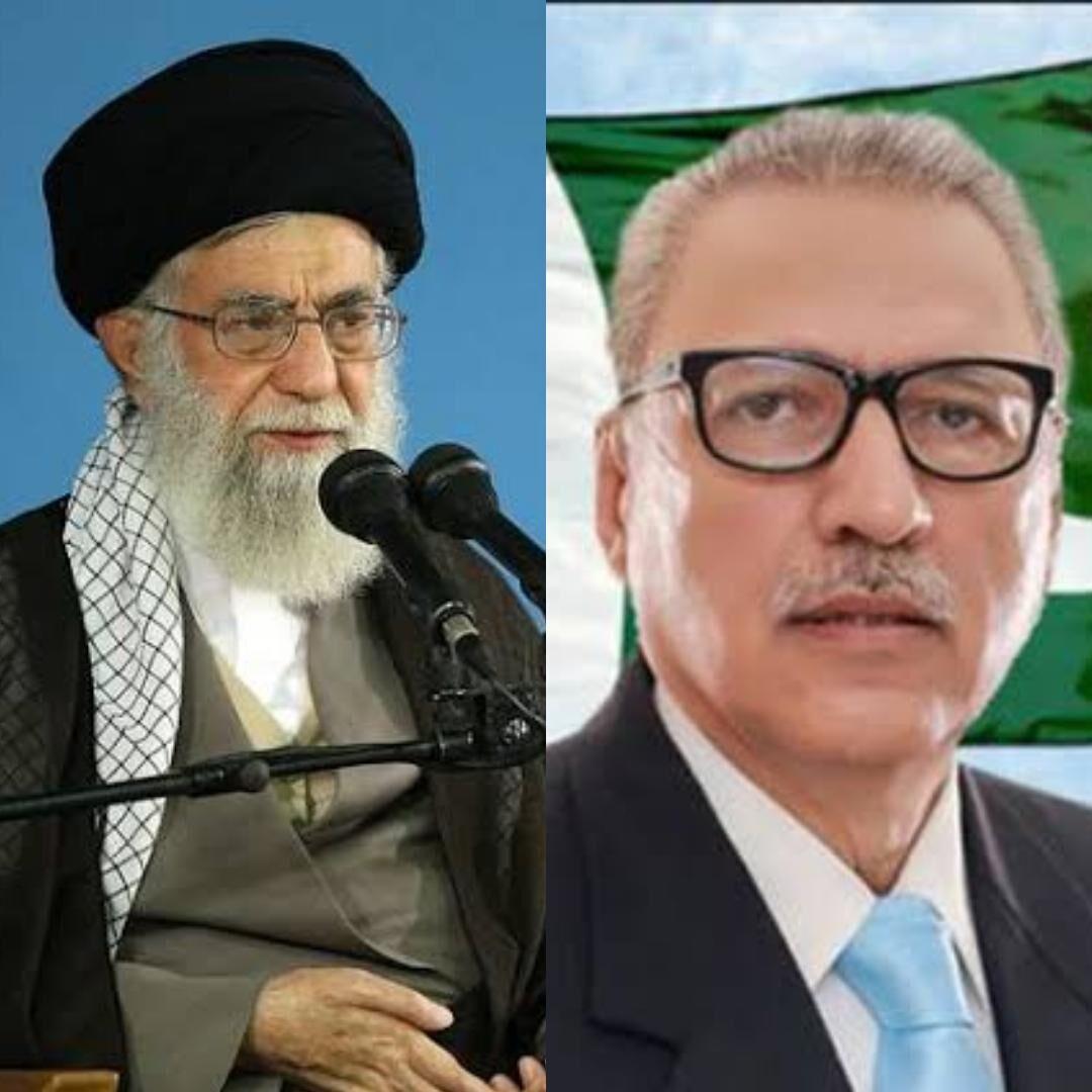 الرئيس الباكستاني يشيد بمواقف قائد الثورة في دعمه لمسلمي الهند