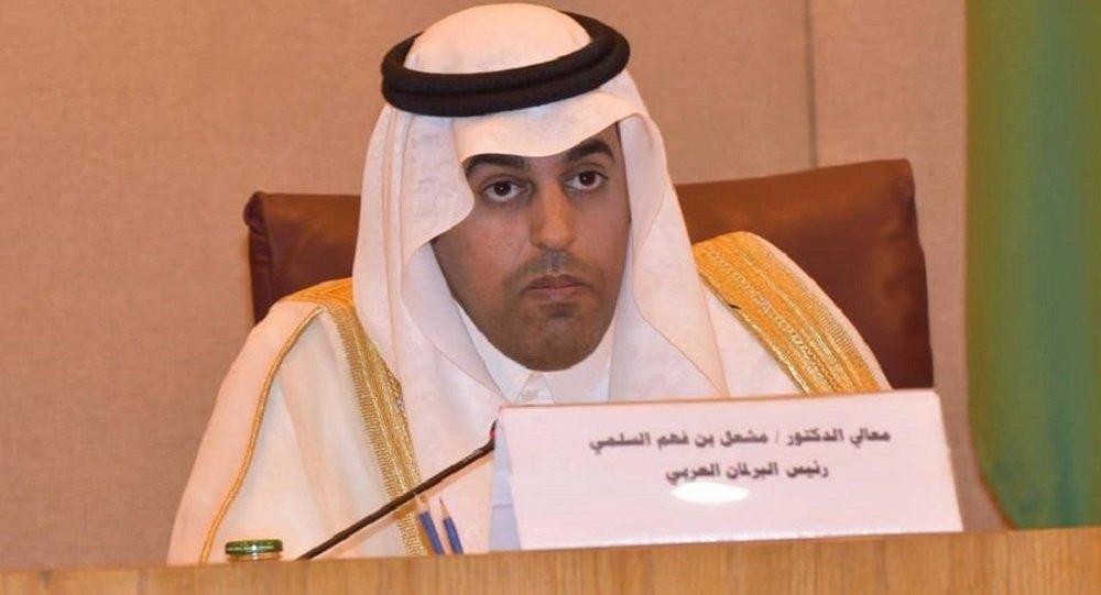 البرلمان العربي يطالب باتخاذ موقف حازم ضد