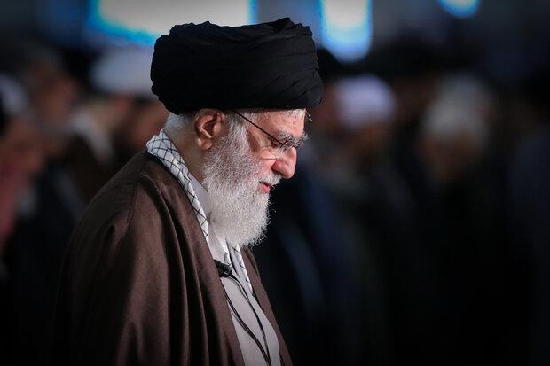 توصية معنوية من قائد الثورة اثر عدم اقامة مراسم الاعتكاف