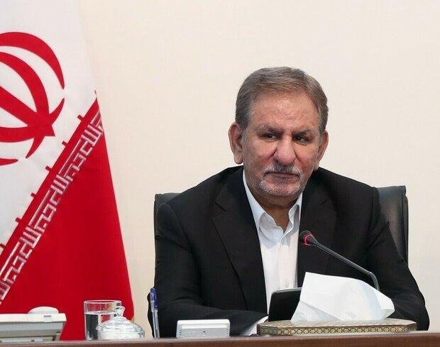 جهانغيري: الحظر الأميركي يمنع إيران من النشاطات المصرفية لتلبية احتياجات البلاد للدواء