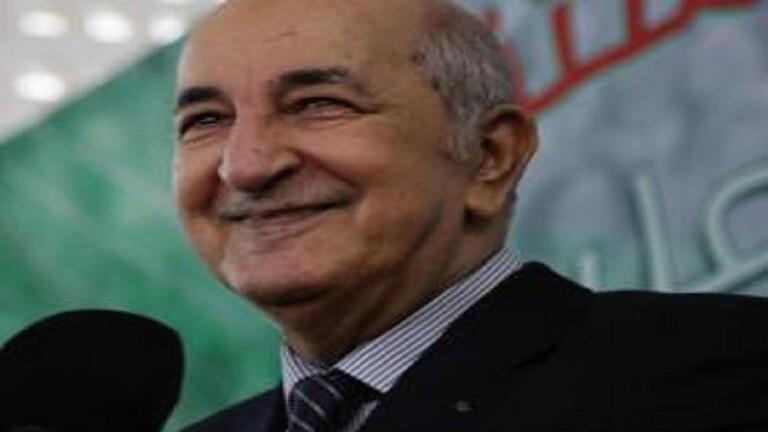 رئيس الجزائر للفائز بجائزة