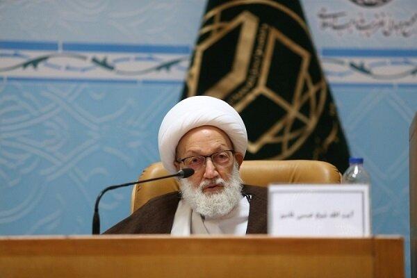 آية الله قاسم يجدد دعوته لإطلاق سراح السجناء السياسين خشية وقوع كارثة إنسانية