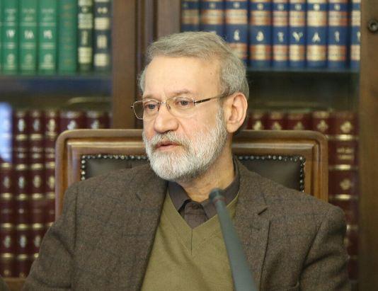 لاريجاني يؤكد على العلاقات الاستراتيجية بين ايران والصين